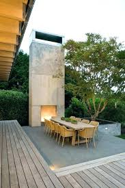 concrete block fireplace outdoor nz
