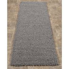 sweet home s cozy collection gray 3 ft x 8 ft runner rug