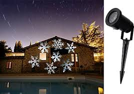 outdoor spot light for christmas decorations. julyfire-led-moving-white-snowflakes-spotlight-lamp-led- outdoor spot light for christmas decorations p