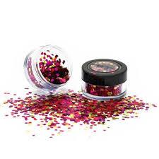 Paintglow Kosmetické Festivalové Flitry Barevné Růžovo Fialovo Zlaté Bio Degradable Blends Glitter Sea Urchin 3g