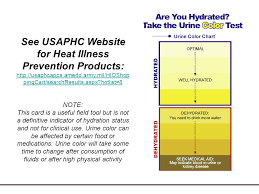 Army Hydration Chart Heat Illness Risk Management Ppt Download