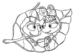 Small Picture 12 best Disney Bugs Life Coloring Page images on Pinterest Bugs