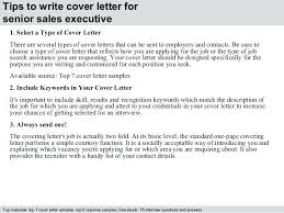 Executive Cover Letters Sales Executive Cover Letter Sample Sample Cover Letter Sales