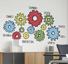 office wall stickers. Office Wall Machine Sticker Office Wall Stickers D