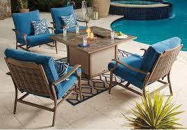 signature design by ashley partanna piece outdoor fire pit set patio