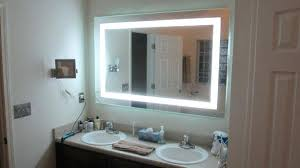 lighted vanity mirror wall mount. Marvelous Lighted Vanity Mirror Wall Mounted Successful Makeup Most Great Mount C