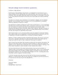 Best Scholarship Recommendation Letter Samples Sample For