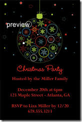 Christmas Party Invitations Archives