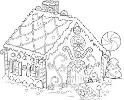 Gingerbread house coloring pages are a tasty way to enjoy the holiday with color and style. Gingerbread House Colouring Pages Printable