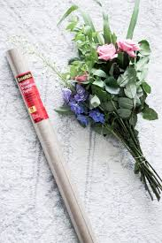 How To Wrap Flower Bouquet In Paper How To Wrap A Bouquet Of Fresh Flowers Pretty In The Pines