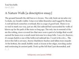nature writing essays twenty hueandi co nature writing essays