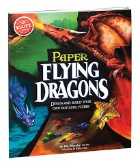 com klutz paper flying dragons craft kit the editors of com klutz paper flying dragons craft kit the editors of klutz toys games