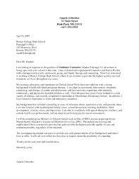 Career Counselor Cover Letter Cover Letter Sample Uva Career