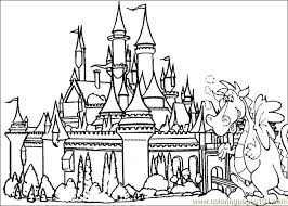Small Picture Picture Collection Website Castle Coloring Pages at Children Books