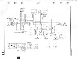 1986 honda trx 350 wiring diagram 1985 atc 125m wiring harness damage by mice honda atv forum click the image to open