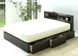 Cali King Bed Frame King Bed Frame With Drawers Platform King Bed ...