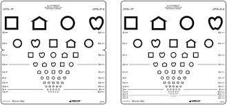 Lea Symbols Chart Printable Lea Test Ltd