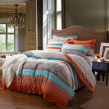 romantic orange bedding orange