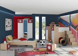 impressive ious kids room decor design ideas with simple wood bed design also cool football poster