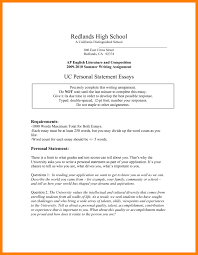College Personal Statement Examples Personal Essay Thesis Statement Examples Example Of Personal