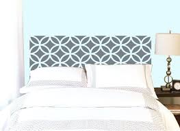 vinyl headboard wall decal full twin queen size decals circle pattern classical elegant sticker home bedroom