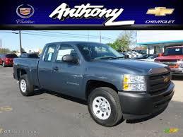 2012 Blue Granite Metallic Chevrolet Silverado 1500 Work Truck ...