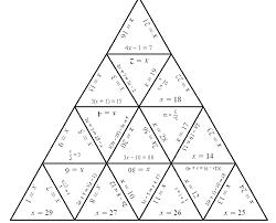 tarsia puzzle with edges