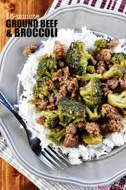 easy dinner recipes with ground beef. Perfect Beef Ground Beef And Broccoli  A Healthy Quick Easy Skillet Recipe That  Comes Intended Easy Dinner Recipes With S