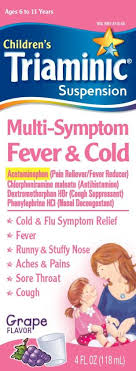 Triaminic Multi Symptom Fever And Cold Suspension