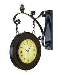 chain side wall clock wall clock