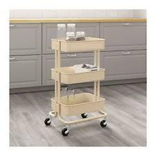 kitchen utility cart. New IKEA Raskog Home Kitchen Bedroom Storage Steel Utility Cart, Beige Cart
