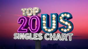 Top 20 Us Singles Chart On Pantone Canvas Gallery