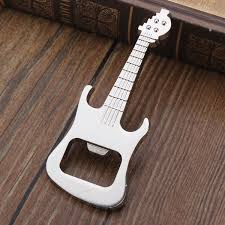 bottle opener guitar keyring metal kitchen bar beer novelty tool gift
