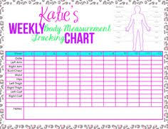 isagenix measurement tracker body measurement chart wasn t liking what i found so i made my