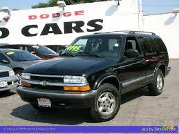 1999 Chevrolet Blazer LS 4x4 in Onyx Black - 215535 ...