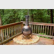 Great Idea To Put Under Your Chiminea So It Doesn T Burn Your Deck Fire Pit On Wood Deck Patio Gazebo Deck
