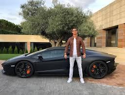 lamborghini aventador matte black. cristiano ronaldo picks up a brand new matte black lamborghini aventador motoroids 7