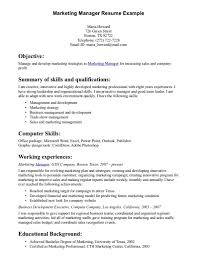 Free Marketing Resume Templates Medical Assistant Sample Resumes