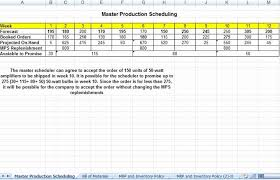 Production Scheduling In Excel Production Schedule Template Excel Tinymcsmall Template