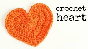 Heart Crochet Pattern Custom How To Crochet A HEART Medium Size CROCHET LOVERS YouTube