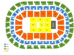 Chesapeake Energy Arena Seating Chart And Tickets