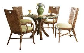 Outdoor wicker dining sets Grey Wicker Paradise Rattan Dining Set Marquesa Wicker Paradise