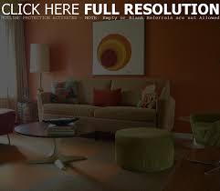 ideas burnt orange:  delightful orange green living room ideas burnt orange living room ideas astonishing