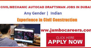 Autocad Draftsman Autocad Draftsman Jobs In The Middle East Draftsman Jobs In Uae