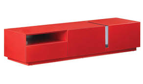tv modern tv stand in red high gloss  free shipping  get