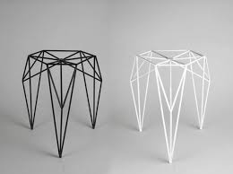 steel furniture designs. a stool made of steel rods and powder coated by olga geometric furniturefurniture designsteel furniture designs