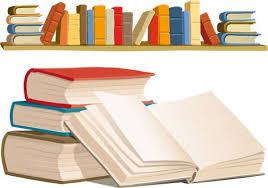 book bookshelf vector