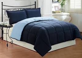 comforter cover queen size egyptian cotton 1pc navy blue
