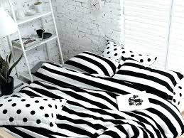 black and white striped duvet cover ikea