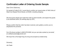 Letter Of Intent To Purchase Goods Classy Letter Of Ordering Goods Business Letter Format